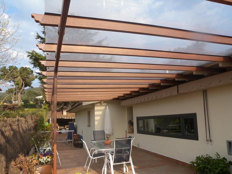 Pergolas de aluminio - Pergolas de aluminio para terrazas ...