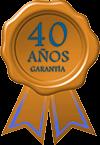 40 years guarantee
